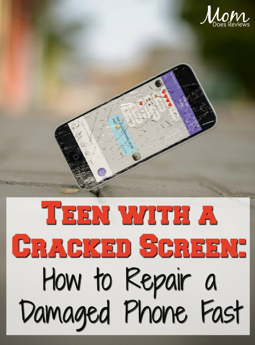 Teen with a Cracked Screen: How to Repair a Damaged Phone Fast