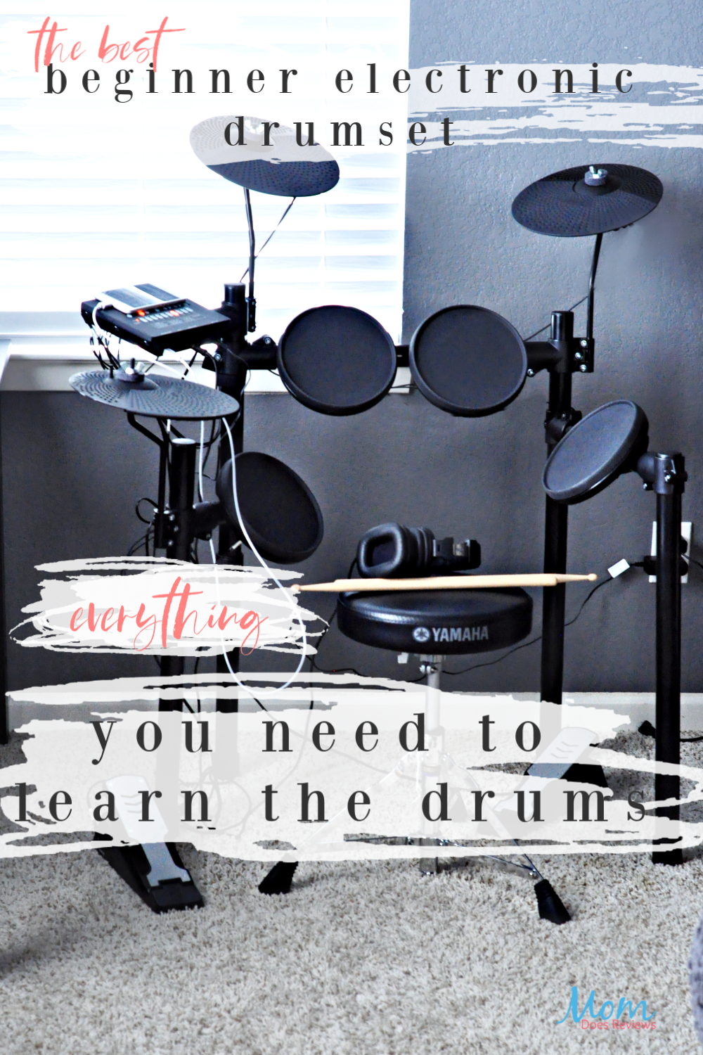 The Best Beginner Electronic Drum Kit for just about anyone