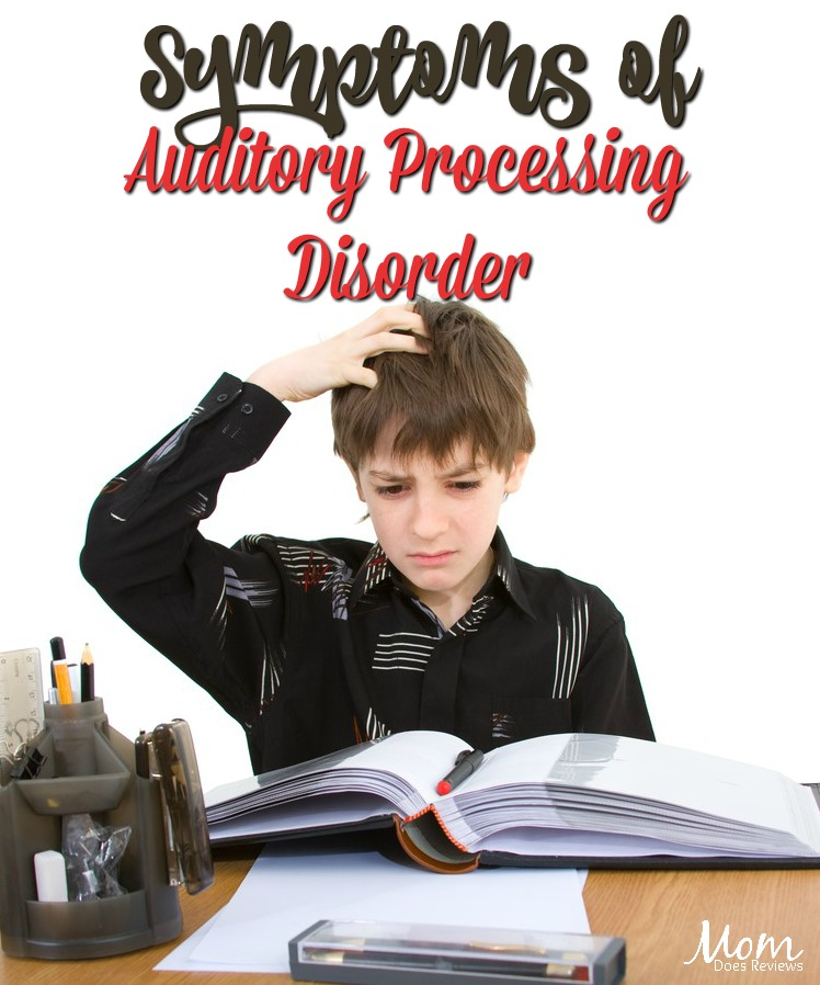 The Various Symptoms of Auditory Processing Disorder #parenting #apd #learning #health