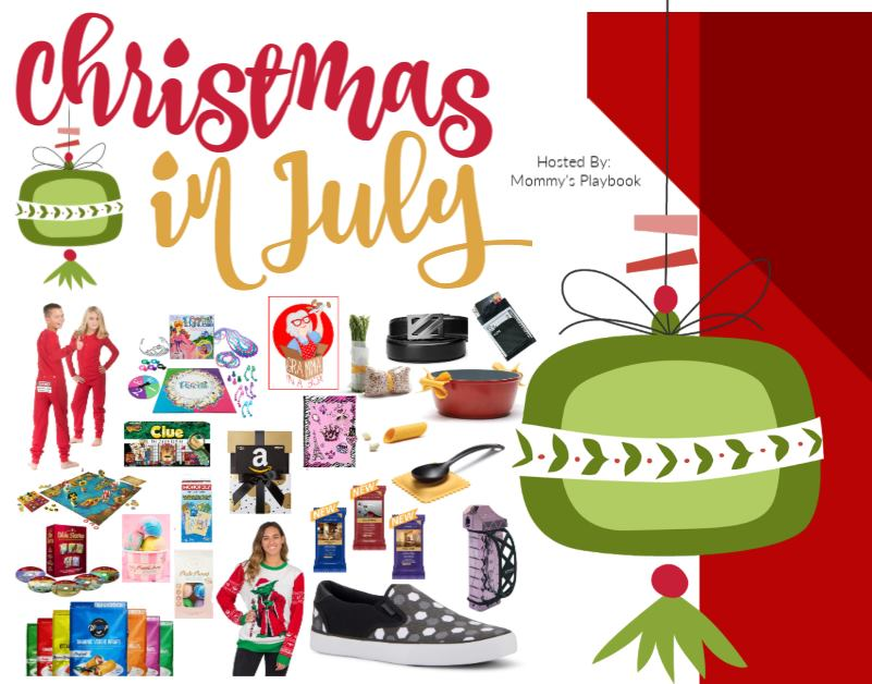 #Win Over $700 in Prizes! #ChristmasinJuly US, ends 7/25