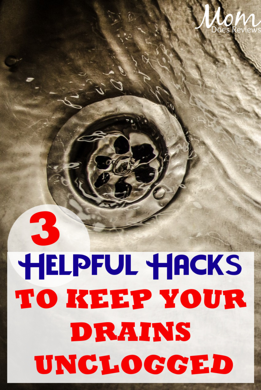 3 Helpful Hacks to Keep Your Drains Unclogged