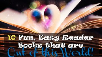 10 Fun and Easy Reader books that are out of the world #books #reading #education #parenting #amazon