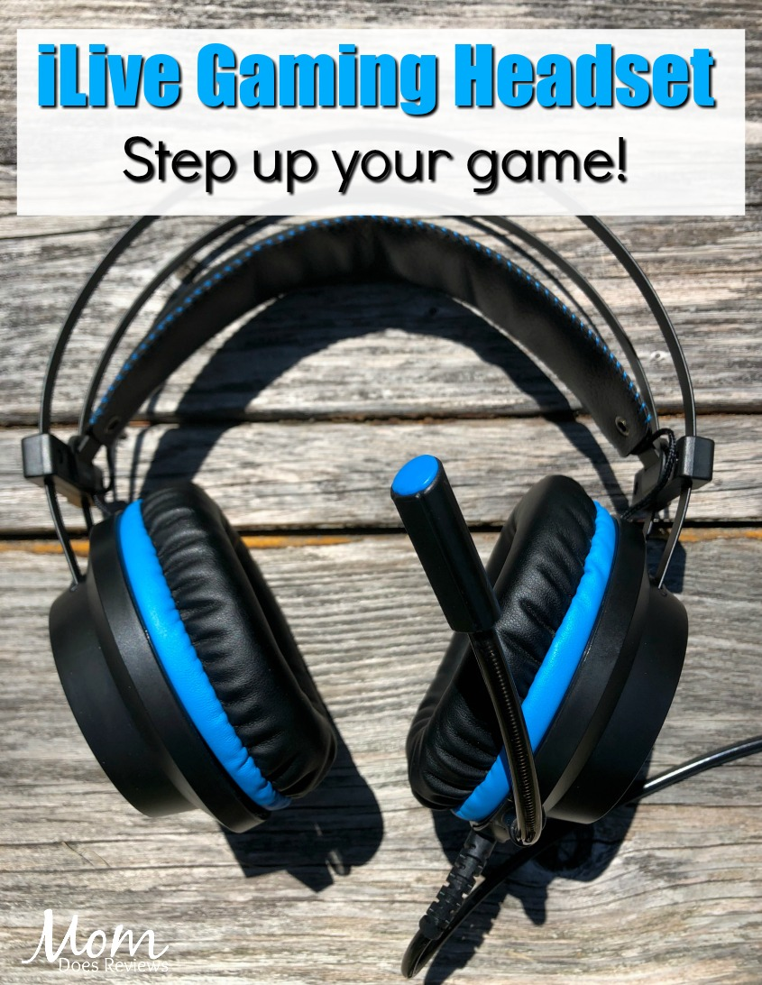 Step up Your Game with the iLive Gaming Headset #MDRSummerFun