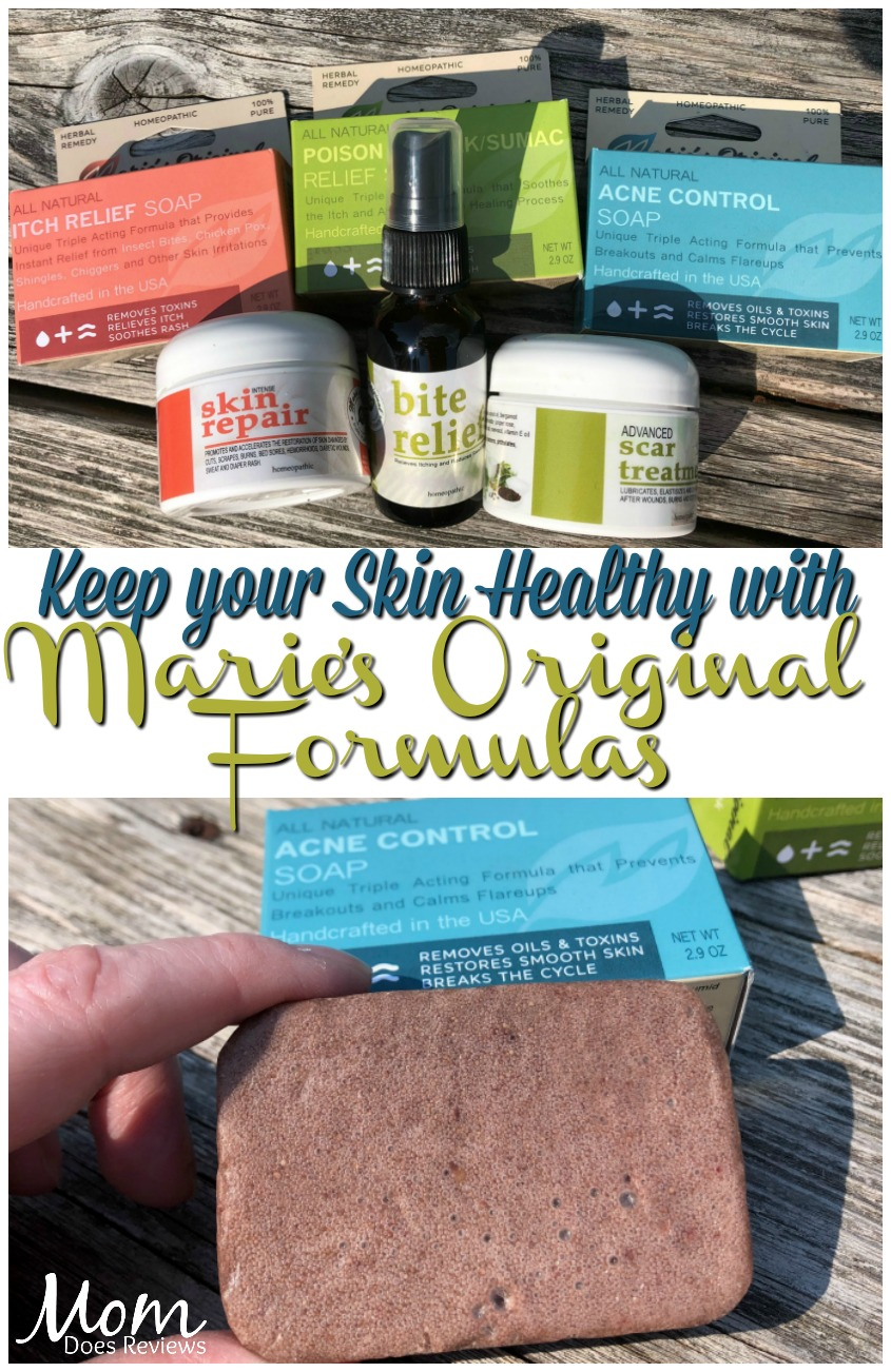 Pure Plant Power to Keep your Skin Healthy This Summer with Marie's Original Formulas #MDRSummerFun