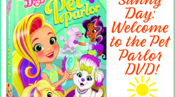 3 Winners! Sunny Day: Welcome to the Pet Parlor DVD! US only, ends 8/6