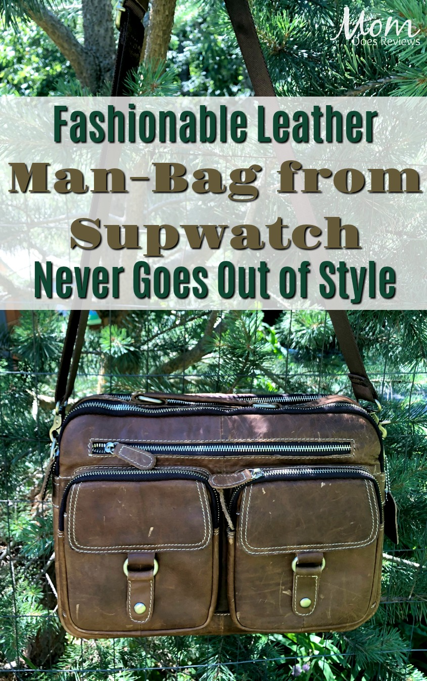 Fashionable Leather Bag from Supwatch Never Goes out of Style #MDRSummerFun