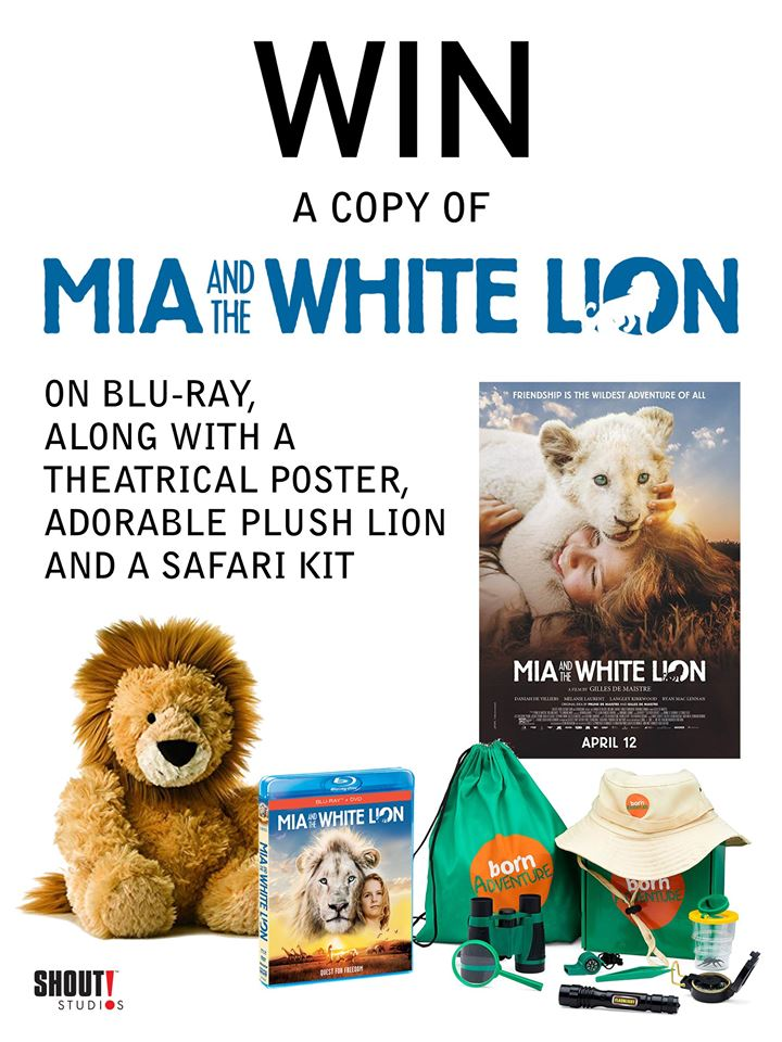 #Win Mia and the White Lion DVD Prize Pack, US ends 7/12