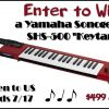 "#Win Yamaha Sonogenic SHS-500 ""Keytar"" $499 arv, US only, ends 7/17"