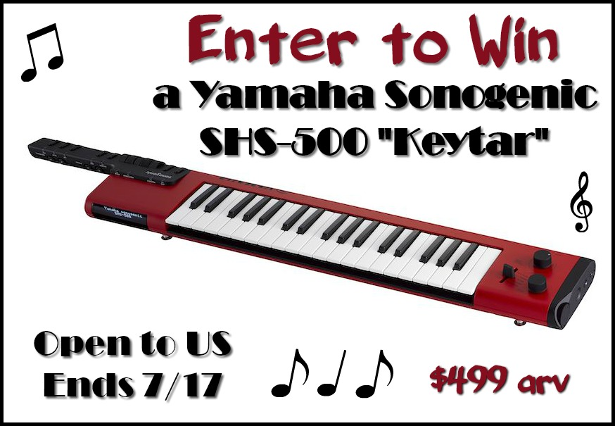 "#Win Yamaha Sonogenic SHS-500 ""Keytar"" $499 arv, US only, ends 7/17"
