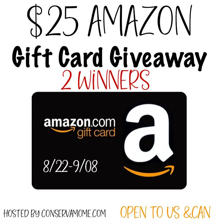 TWO #Winners $25 Amazon GC, US/CAN ends 9/8 for #BTS