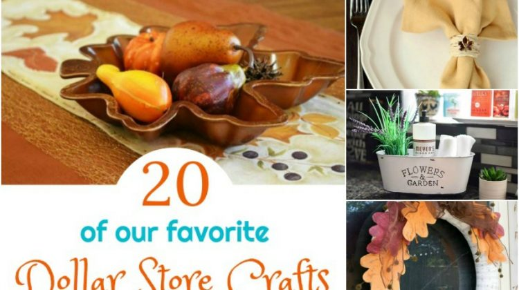 20 of our Favorite Dollar Store Crafts You Have to Make