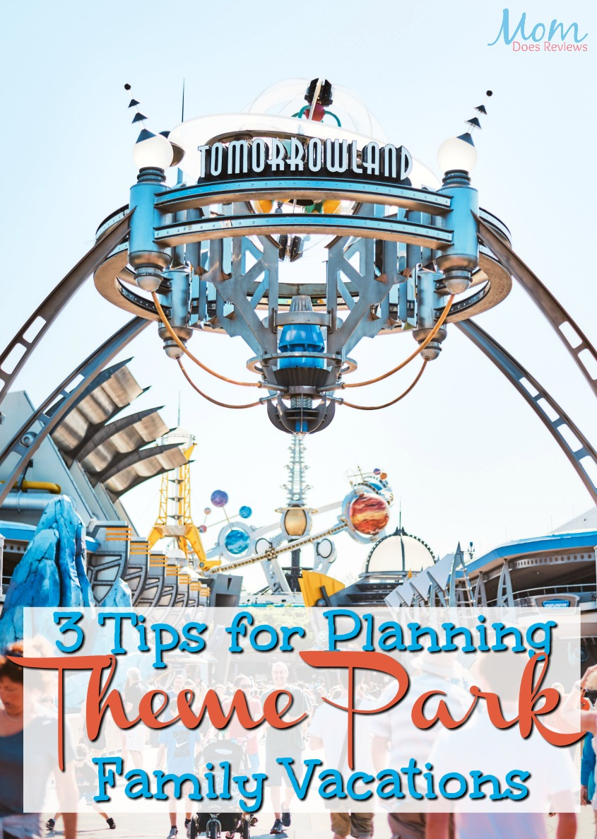 3 Tips for Planning Theme Park Family Vacations #travel #vacations #disney