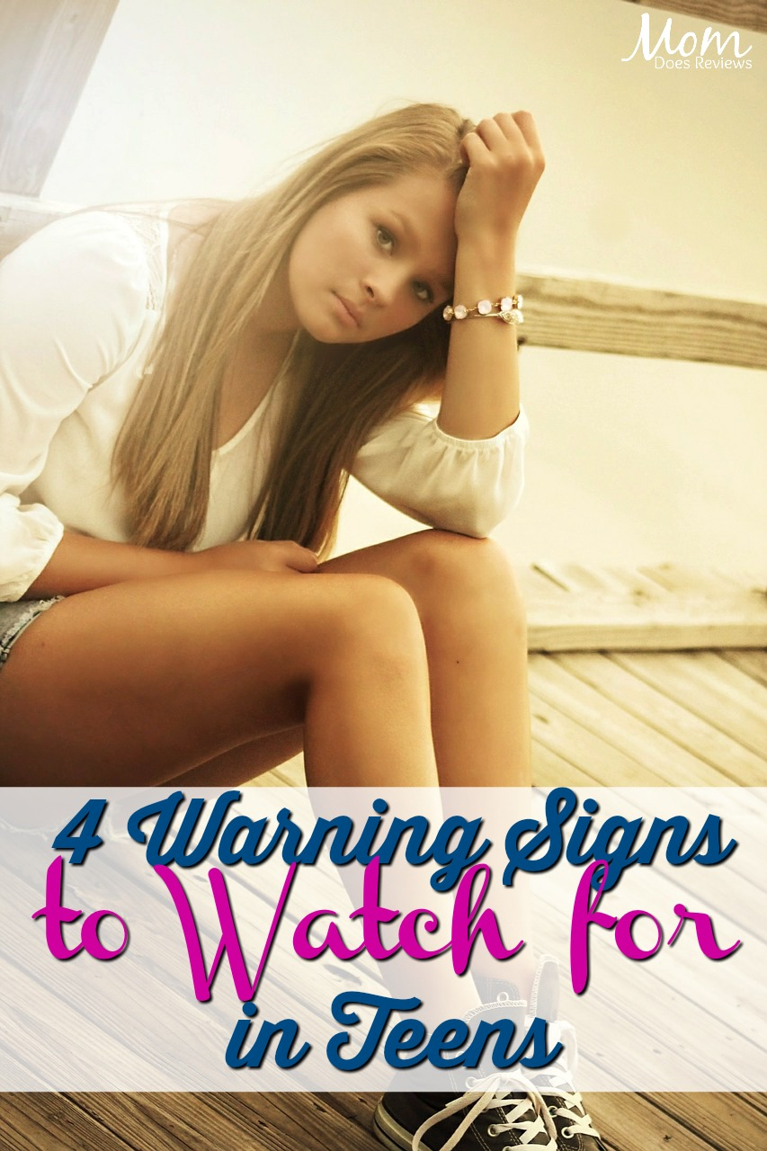 4 Warning Signs Your Teen May Be Showing that Means Something Serious #parenting #teens #suicide