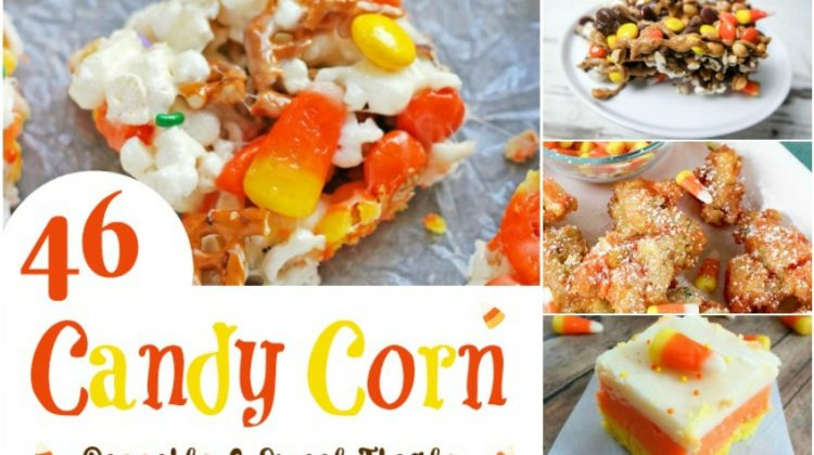46 Candy Corn Desserts & Sweet Treats Perfect for Fall