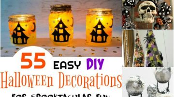 55 Easy DIY Halloween Decorations for Spooktacular Fun