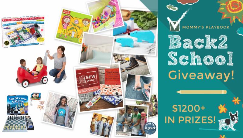 #Win $1200 #Back2School Celebration Multi-Prize Pack! US ends 9/1