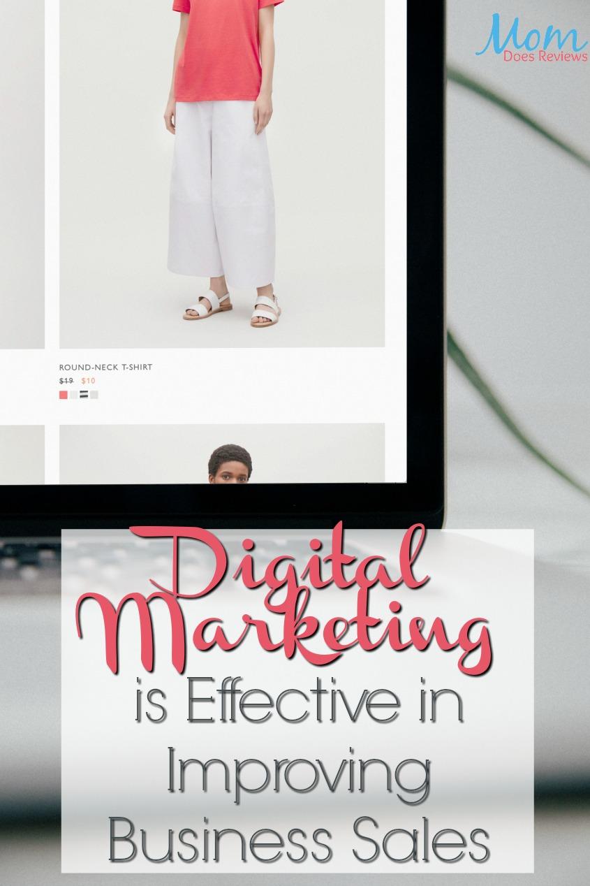 Digital Marketing is Effective in Improving Business Sales #business #marketing #sales