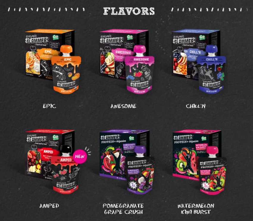 Send Your Child to School with Mom and Kid Approved Slammers Snacks