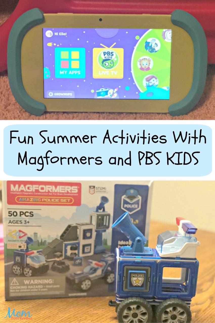Fun Summer Activities With Magformers and PBS KIDS #MDRSummerFun -