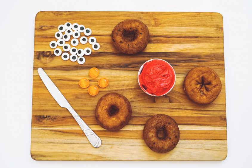 Make Your Own Elmo Donuts!