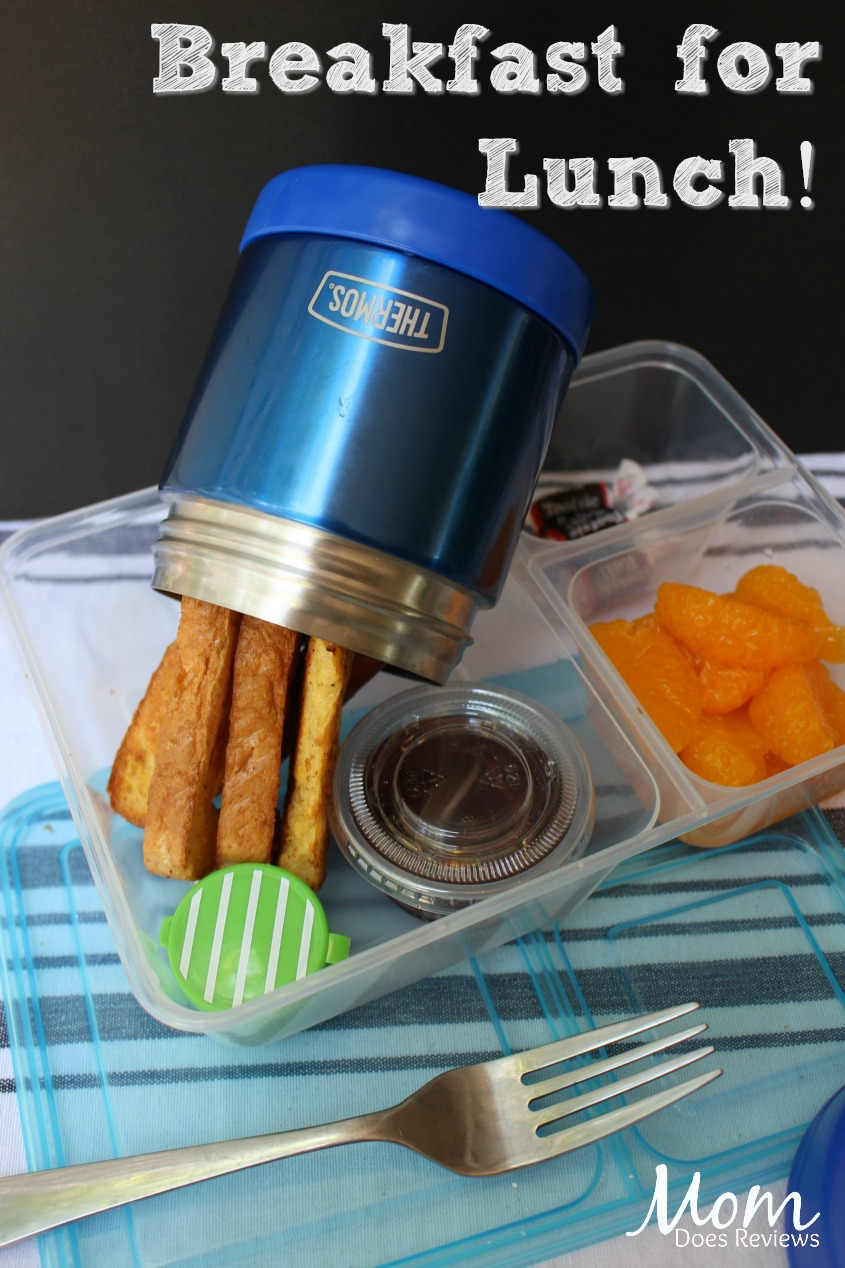 Breakfast for lunch- 1 of 5 Fun and Easy School Lunches! #Back2School19