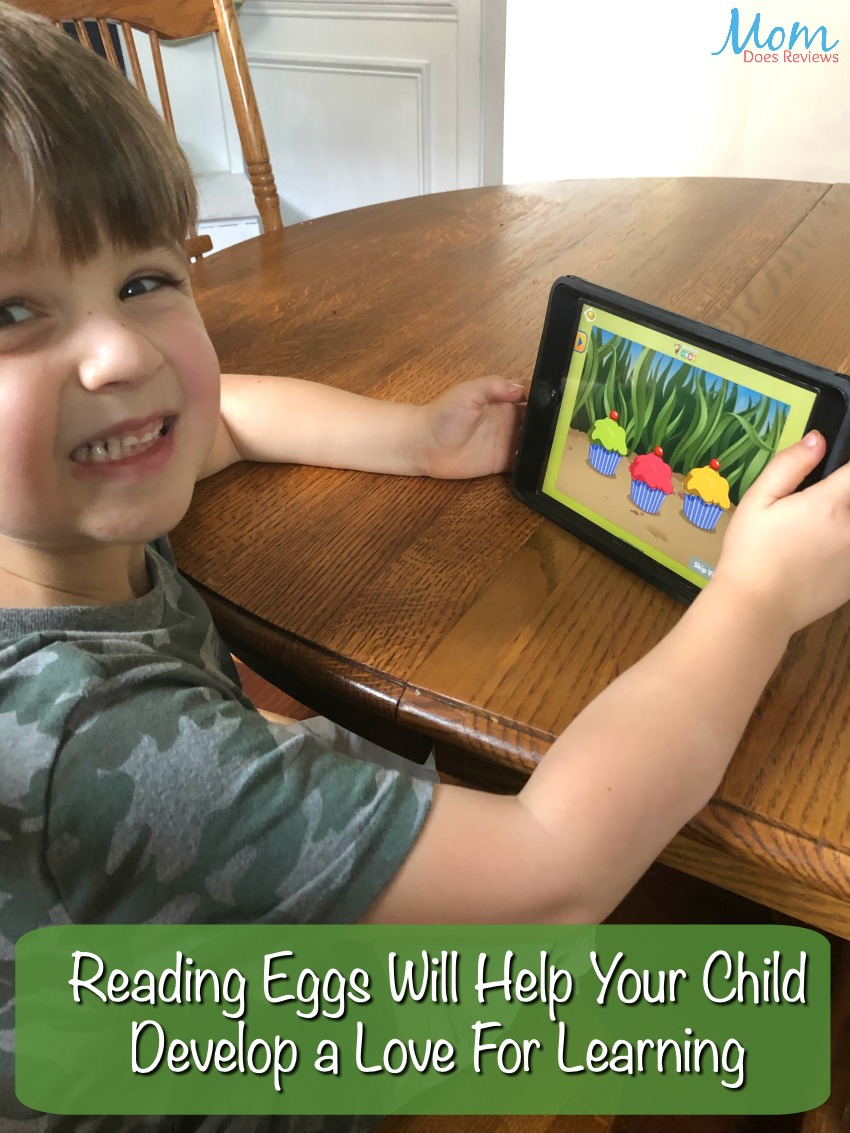 Reading Eggs Will Help Your Child Develop a Love For Learning