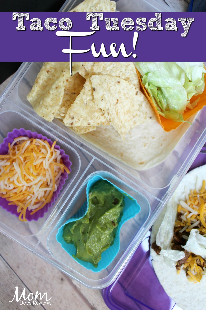 Taco Tuesday- 1 of 5 Fun and Easy School Lunches! #Back2School19