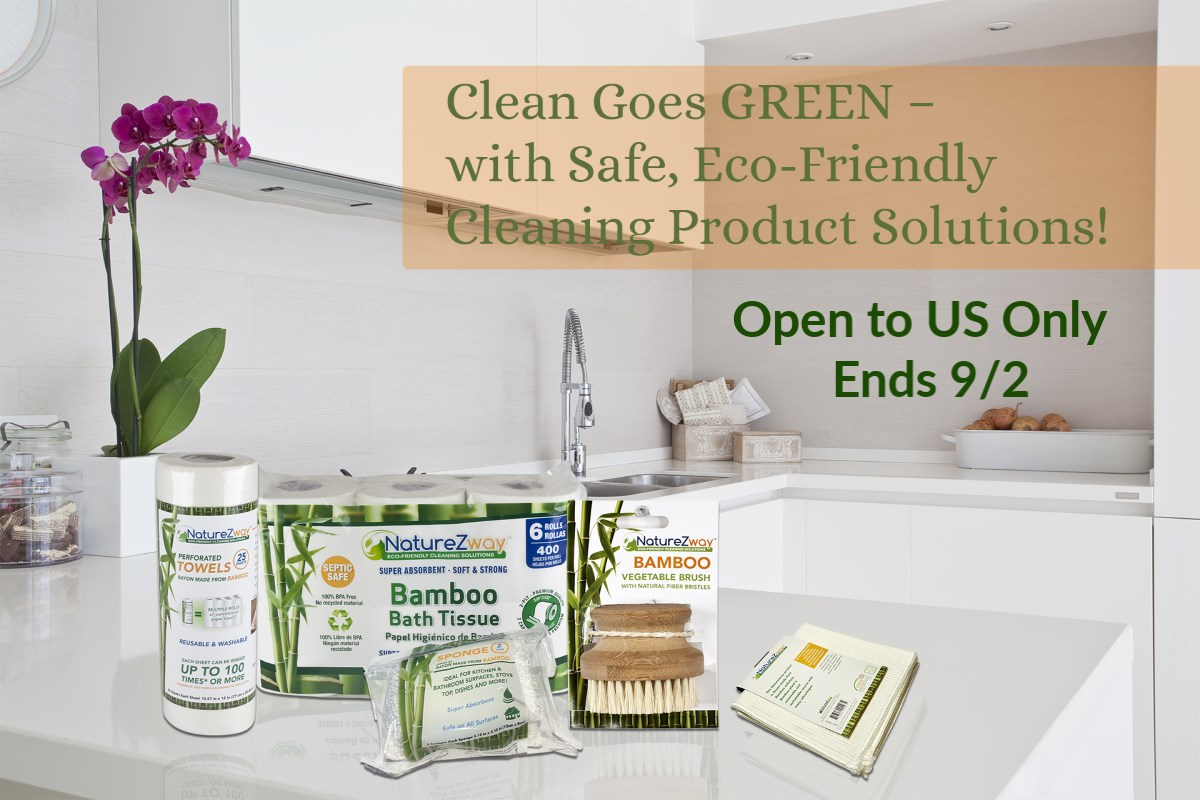 #Win NatureZway Bamboo Household Products - US, ends 9/2