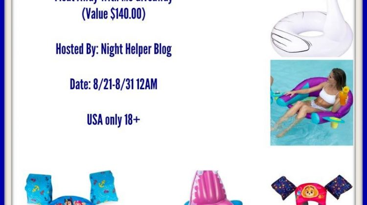 #Win the Float Away with Me Prize Pack from Swimways! US ends 8/30