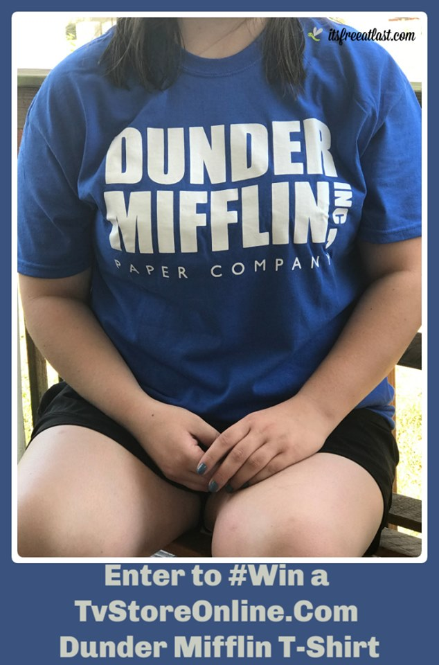 """#Win a T-shirt from """"The Office"""" from TVStoreOnline- US, ends 8/31"""