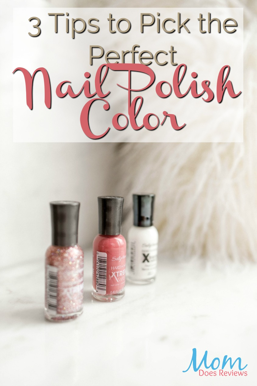 3 Tips to Pick the Perfect Nail Polish Color #beauty #nailpolish #makeup