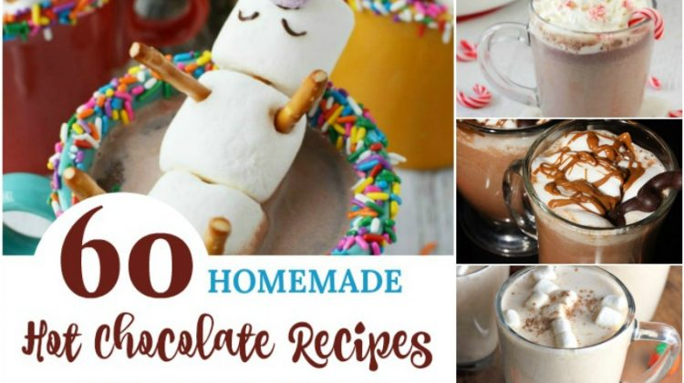 60 Homemade Hot Chocolate Recipes to Warm You Inside Out