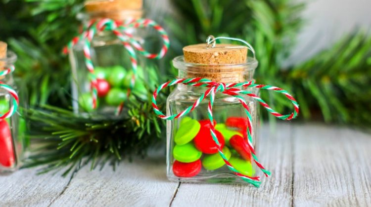 Easy & Fun Candy Jar Ornaments for Holiday Cheer