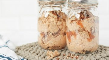Caramel Pumpkin Pie Overnight Oats Recipe