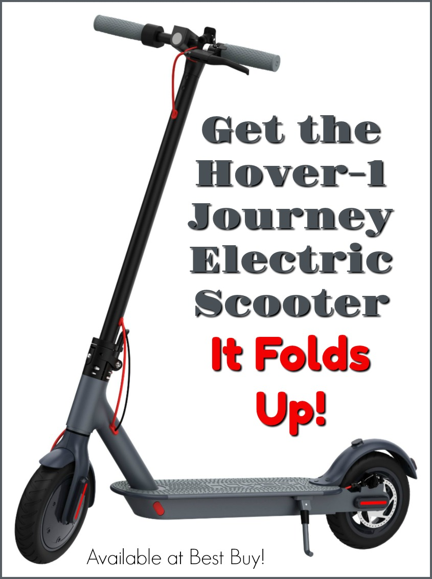 Use the Hover-1 Journey Electric Scooter to Get Around Campus! #Back2School19 #bestbuy