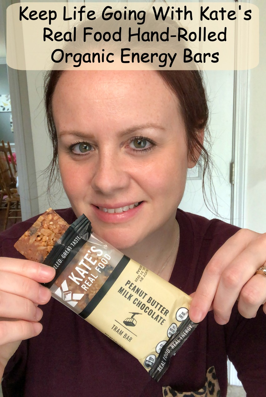 Keep Life Going With Kate's Real Food Hand-Rolled Organic Energy Bars