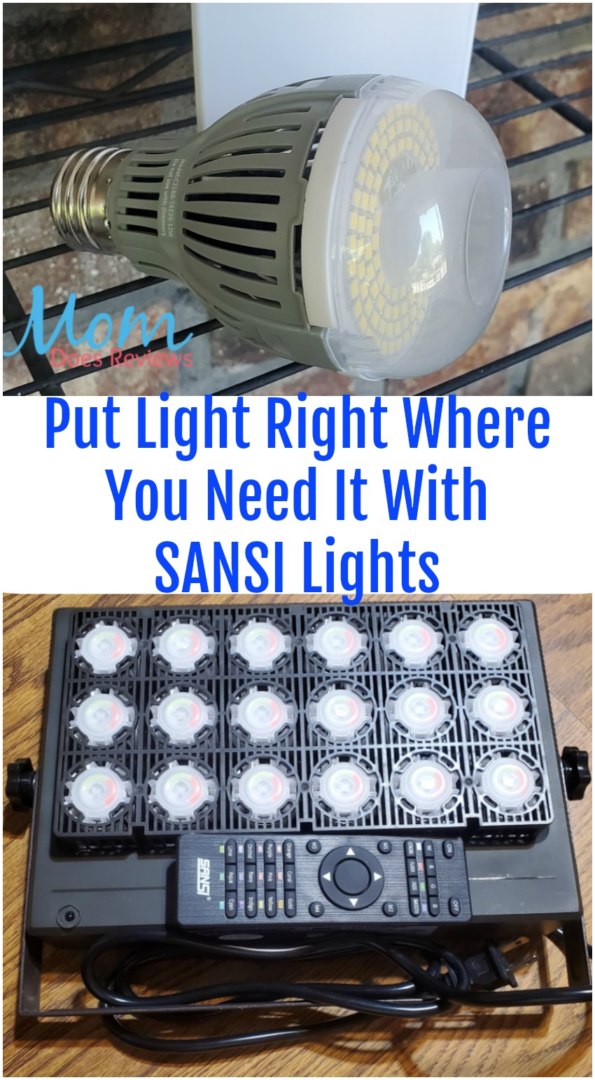 Put Light Right Where You Need It With SANSI Lights