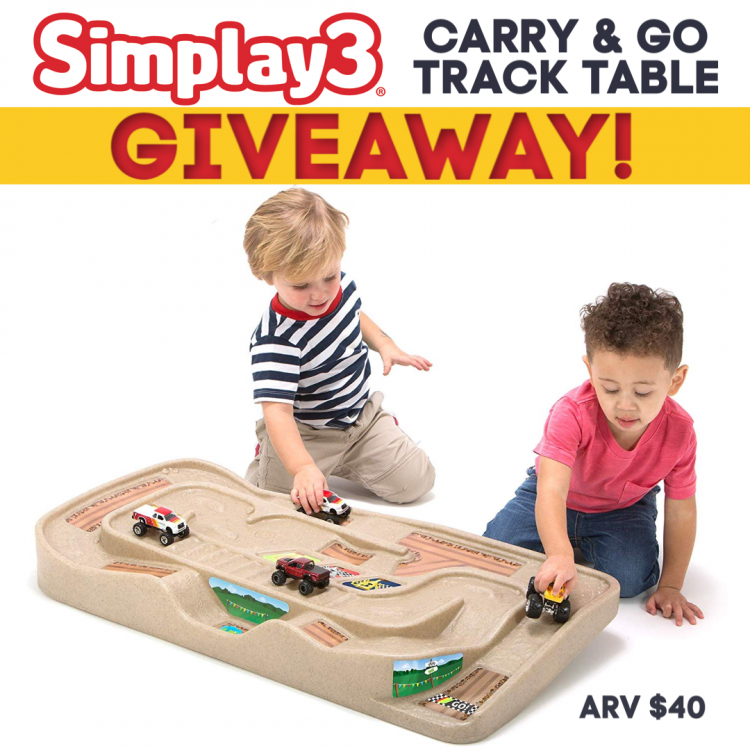 #Win a Simplay3 Carry and Go Track Table! US, ends 9/18