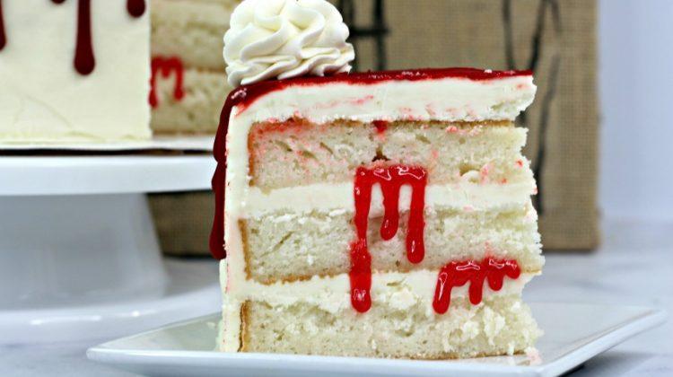 Bloody Vampire Cake Recipe