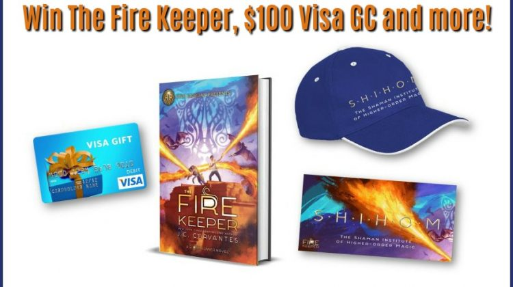 #Win $100 Visa CG & The Fire Keeper by J.C. Cervantes #TheFireKeeper