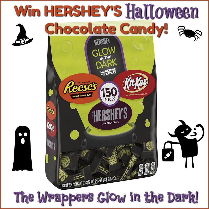 #Win HERSHEY'S Halloween Candy! US only, ends 9/28