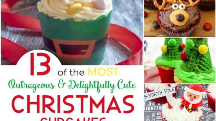 13 of the MOST Outrageous & Delightfully Cute Christmas Cupcakes