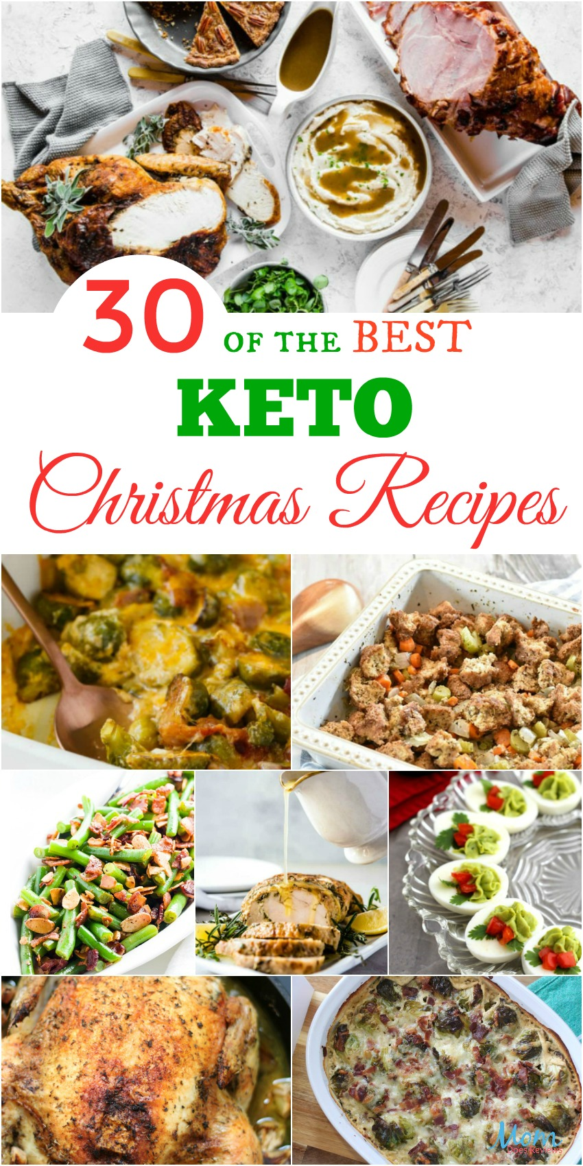30 of the Best Keto Christmas #Recipes Guaranteed to Please #KETO #foodie #christmas