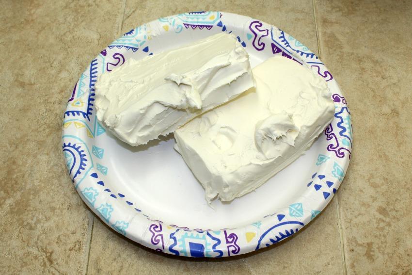 Blueberry No Bake Cheese Cake process