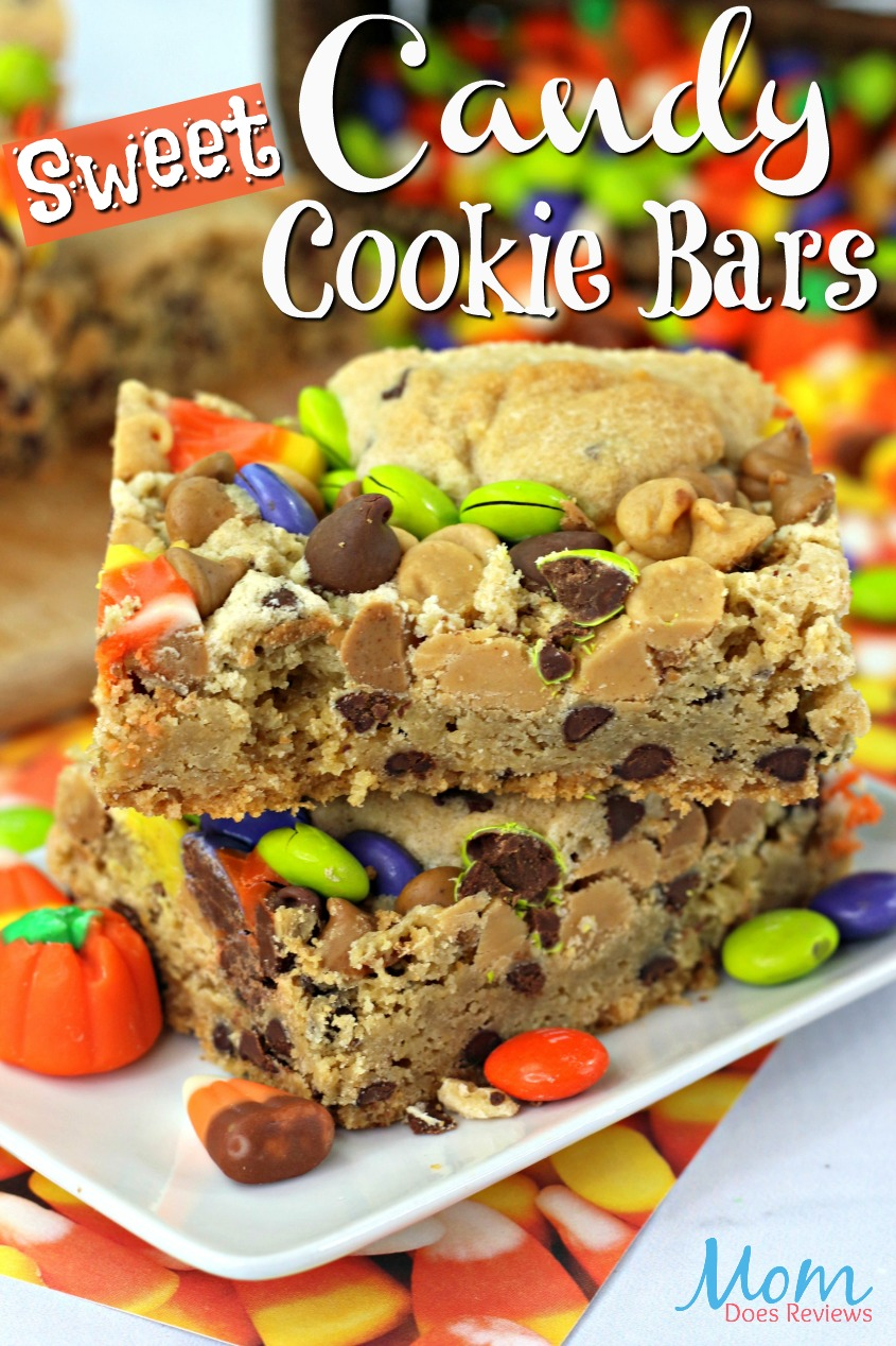 Candy Cookie Bars #dessert #recipe #candy