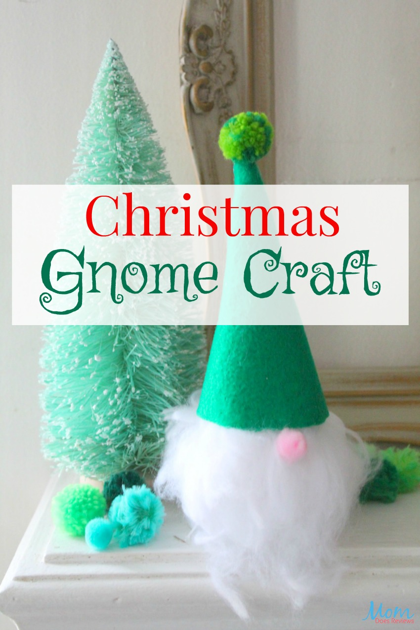 Cute & Easy Christmas Gnome #Craft #christmascraft #diy