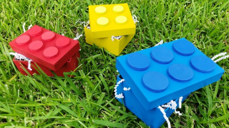 DIY LEGO Brick Boxes Tutorial