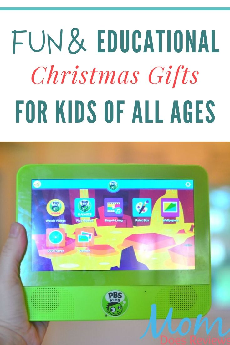educational gifts for kids this Christmas