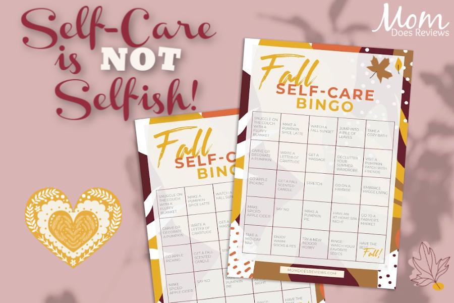 Fall Self-Care Bingo Printable