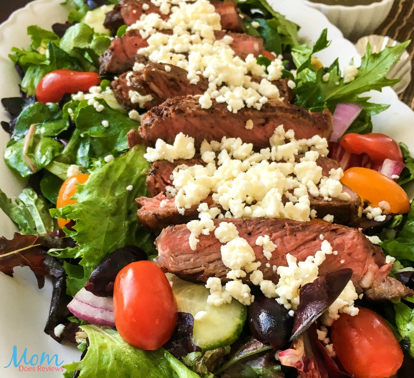 Farm Fresh Greek Steak Salad